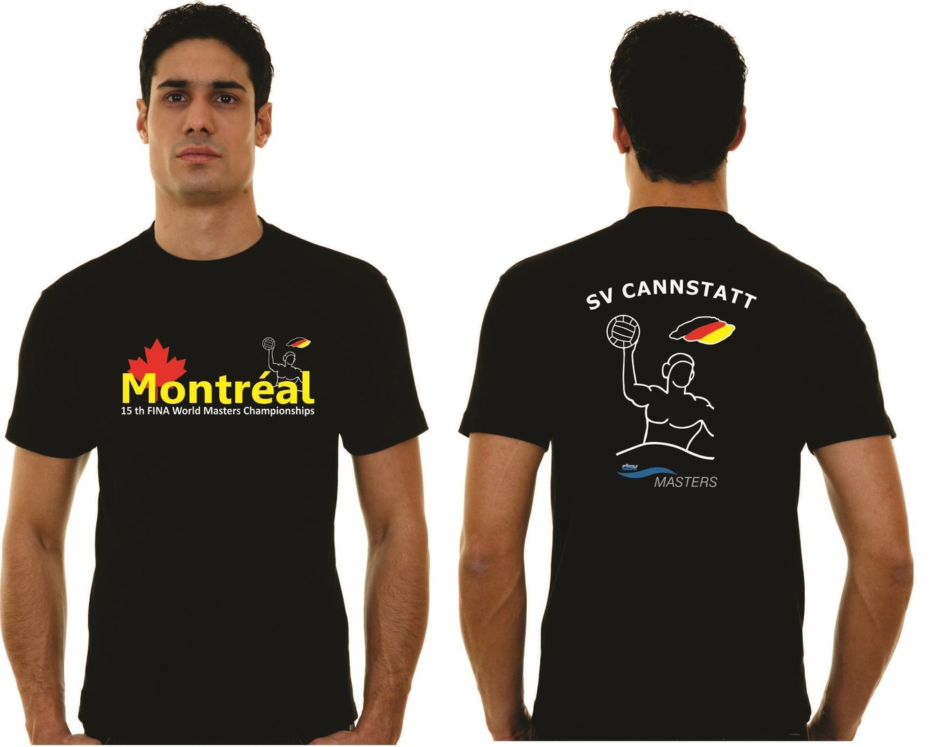 T-Shirt CANNSTATT  WM 2014 Montreal Sonderdruck