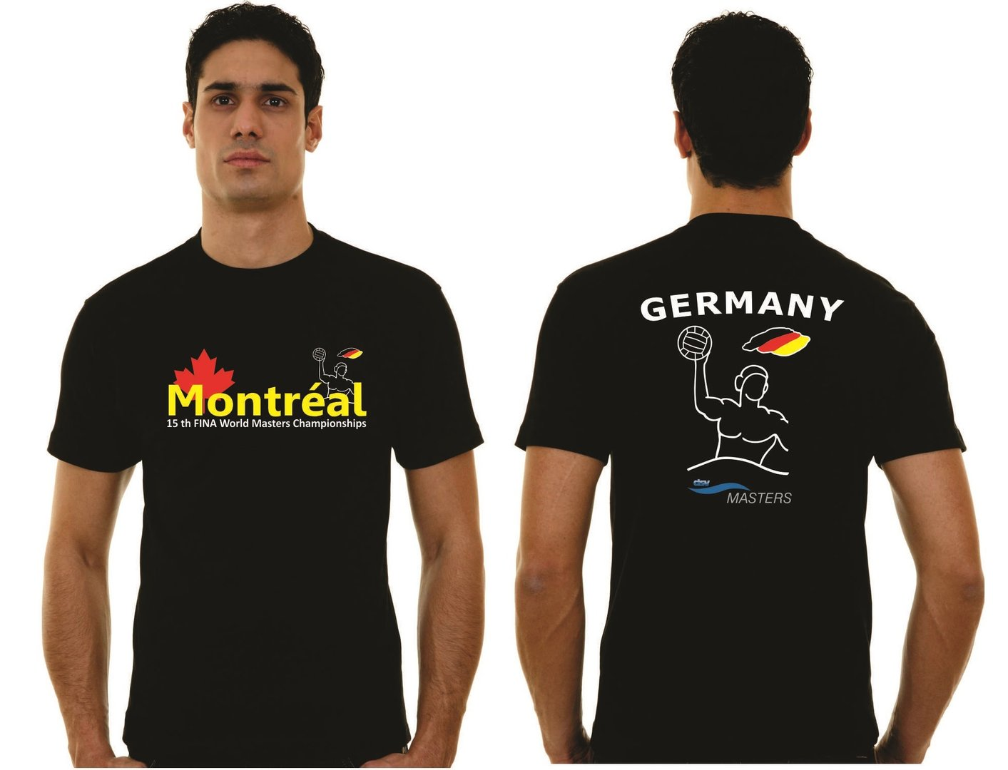 T-Shirt GERMANY WM 2014 Montreal Sonderdruck